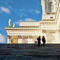 Detail Of Helsinki Cathedral by Jarmo Honkanen