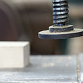 Detail Of The Chuck In The Carpentry Workshop - Shallow Depth Of by Michal Boubin