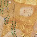 Detail Of Water Serpents I by Gustav Klimt