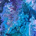 Detail Of Waves 6 by Robbie Masso