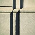 Detail Stone Pillars With Shadow by Jozef Jankola