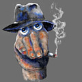 Detective Hand by Rick Mosher