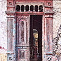 Deteriorated Door In Casco Viejo, Panama by Tatiana Travelways