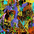 Detour Abstract Art by Saundra Myles