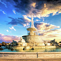 Detroit James Scott Fountain by Christopher Arndt
