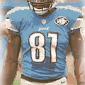 Detroit Lions Calvin Johnson 1 by Joe Hamilton