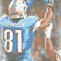 Detroit Lions Calvin Johnson 2 by Joe Hamilton