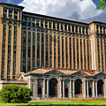 Detroit Michigan Central Station by Christopher Arndt