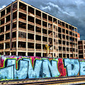 Detroit Packard Automotive Plant by Christopher Arndt
