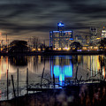 Detroit Reflections by Nicholas  Grunas