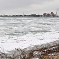 Detroit River by Tysha Rodriguez