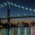 Detroit Riverside Sparkle by Jay Smith