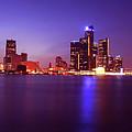 Detroit Skyline 2 by Gordon Dean II