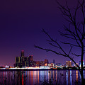 Detroit Skyline by Cale Best