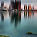 Detroit Sunrise by Andrzej Pradzynski