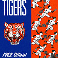 Detroit Tigers 1962 Yearbook by John Farr