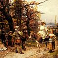 Detti Cesare Auguste A Halt Along The Way by PixBreak Art