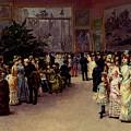 Detti Cesare Auguste Varnishing Day by PixBreak Art