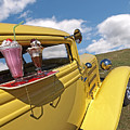 Deuce Coupe At The Drive-in by Gill Billington