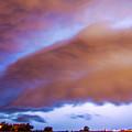 Developing Nebraska Night Shelf Cloud 013 by NebraskaSC