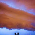 Developing Nebraska Night Shelf Cloud 016 by NebraskaSC