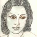Devika Rani - Svetoslav Roerich by Asha Sudhaker Shenoy