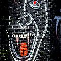 Devil Face Graffiti by Endre Balogh