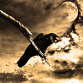 Devil In The Clouds by Wingsdomain Art and Photography