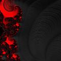 Devil Light 2   A Fractal Abstract by Ann Garrett