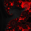 Devil Light   A Fractal Abstract by Ann Garrett