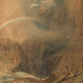 Devil's Bridge Saint Gotthard's Pass by Joseph Mallord William Turner