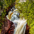Devil's Kettle Falls by Susan Rissi Tregoning