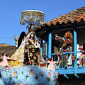 Devils Taunt The Virgen Del Carmen Paucartambo Peru by James Brunker