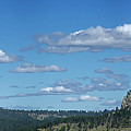 Devils Tower And The Missouri Hills by George Sanquist