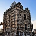 Divine Lorraine Hotel - Broad Street Philadelphia by Bill Cannon
