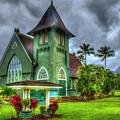 Devotion Wai'oli Hui'ia Church Hanalei Kauai Collection Art by Reid Callaway