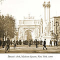 Dewey's Arch Monument, Madison Square, New York, 1900 by A Gurmankin
