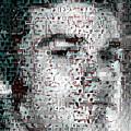 Dexter Blood Splatter Mosaic by Paul Van Scott
