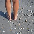 Dez Feet On Beach by George D Gordon III