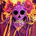 Dia De Muertos Mask by Sandra Selle Rodriguez
