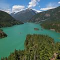 Diablo Lake by Christopher D Elliott