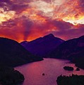 Diablo Lake, United States by Celestial Images
