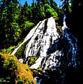 Diamond Creek Falls by Angus Hooper Iii