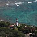 Diamond Head Lighthouse I by Carol  Eliassen