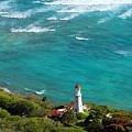 Diamond Head Lighthouse by Patricia Isaman