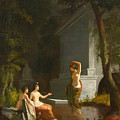 Diana At The Fountain by Samuel Finley Breese Morse