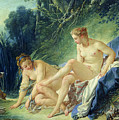 Diana Getting Out Of Her Bath by Francois Boucher
