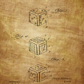 Dice Patent From 1923 by Chris Smith
