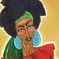 Diced Pineapples by Aliya Michelle