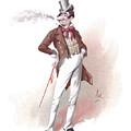 Dick Swiveller by Joseph Clayton Clarke